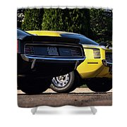 1970 Plymouth 'cuda 440 And Hemi Shower Curtain
