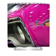 1970 Plymouth Road Runner Shower Curtain by Gordon Dean II