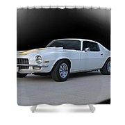 1971 Chevrolet Camaro I Shower Curtain