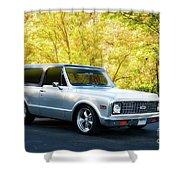 1971 Chevrolet Tahoe Blazer I Shower Curtain