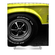1971 Ford Mustang Mach 1 Shower Curtain
