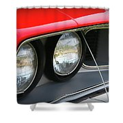 1971 Plymouth Barracuda Cuda Red  Shower Curtain