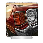 1972 Chevrolet Chevelle Ss  Shower Curtain