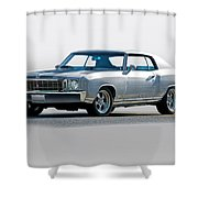 1972 Chevrolet Monte Carlo Shower Curtain