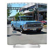 1972 Chevy C10 Bohall Shower Curtain