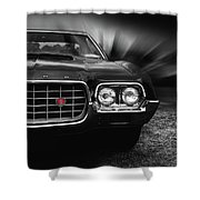 1972 Ford Gran Torino, Sport Fastback Shower Curtain