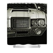 1972 Olds 442 Shower Curtain