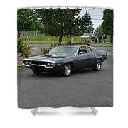 1972 Plymouth Roadrunner Grow Shower Curtain