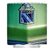 1973 Buick Regal Hood Ornament Shower Curtain