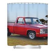 1973 Chevrolet C10 Fleetside Pickup I Shower Curtain