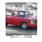 1973 Chevrolet C10 Fleetside Pickup II Shower Curtain