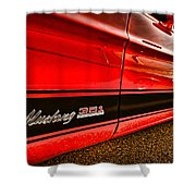 1973 Ford Mustang Mach 1 351 High Performance Shower Curtain