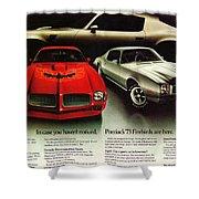 1973 Pontiac Firebird Trans Am  Shower Curtain