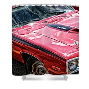 1974 Plymouth Road Runner 340 Shower Curtain