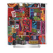 1976 Shower Curtain by David Sutter