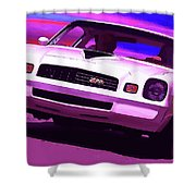 1978 Chevy Camaro Z28 Shower Curtain