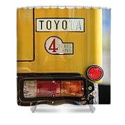 1978 Toyota Land Cruiser Fj40 Taillight Emblem -1191c Shower Curtain