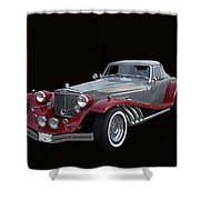 1979 Clenet Shower Curtain
