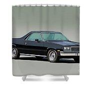 1983 Chevrolet El Camino 1 Shower Curtain