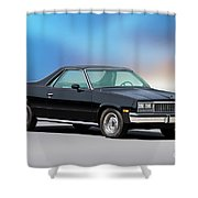1983 Chevrolet El Camino 2 Shower Curtain