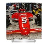 1985 Indy 500 Winner Danny Sullivan Shower Curtain