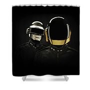 19863 Daft Punk Shower Curtain
