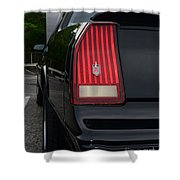 1988 Monte Carlo Ss Tail Light Shower Curtain