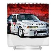 1989 Vl Commodore Walkinshaw Shower Curtain