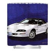 1995 Camaro Convertible Shower Curtain