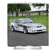 1995 Clarion Mustang Gt Herr Shower Curtain