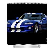 1995 Dodge Viper Coupe I Shower Curtain