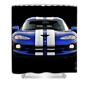 1995 Dodge Viper Coupe II Shower Curtain