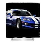 1995 Dodge Viper IIi Shower Curtain