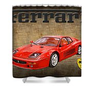 Ferrari F 512m 1995 Shower Curtain