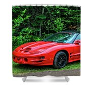 1998 Pontiac Firebird Trans Am Shower Curtain