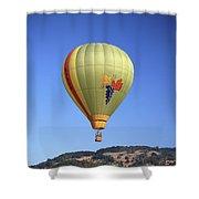 1b6347 Sonoma Thunder Hot Air Balloon Shower Curtain