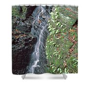 1b6353 Falls On Sonoma Mountain Shower Curtain