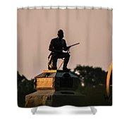 1st Pennsylvania Cavalry Shower Curtain