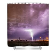 1st Severe Night Tboomers Of 2018 016 Shower Curtain