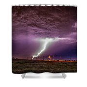 1st Severe Night Tboomers Of 2018 018 Shower Curtain