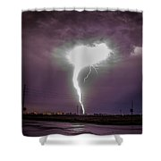 1st Severe Night Tboomers Of 2018 020 Shower Curtain