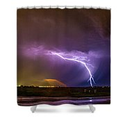1st Severe Night Tboomers Of 2018 022 Shower Curtain