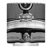 1926 Cadillac Series 314 Custom Hood Ornament Shower Curtain