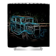 1931 Chevy Hot Rod  Shower Curtain