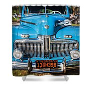 1942 Ford Super Deluxe Sedan Painted  Shower Curtain