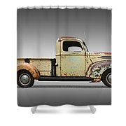 1946 Ford Pickup Truck Shower Curtain
