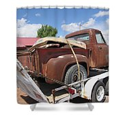 1953 Ford F-100 Truck Shower Curtain