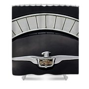 1958 Chrysler Imperial Emblem Shower Curtain