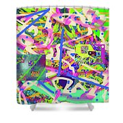 2-6-2015abcdefghijklmnopqrtuvwxyzab Shower Curtain