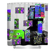 2-7-2015dabcdefghijkl Shower Curtain